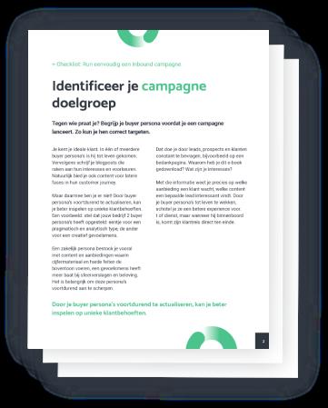 Inbound Campagne Checklist   Inbnd