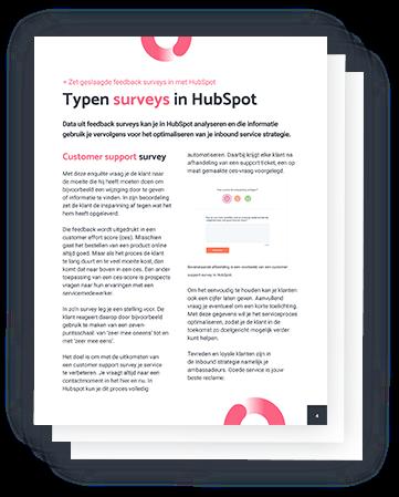 Zet geslaagde feedback surveys in met HubSpot